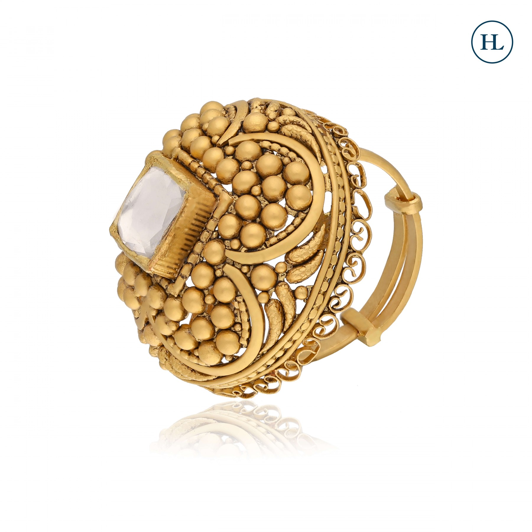 Antique-Styled Gold Ring
