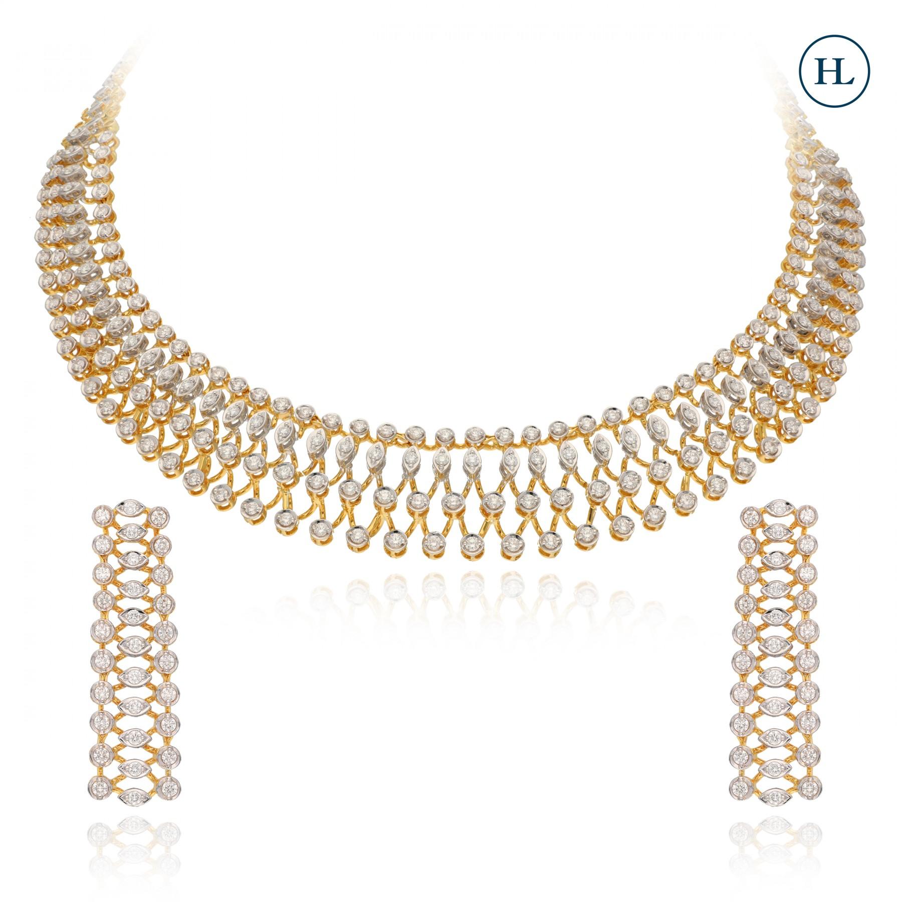 Classic Round Necklace Set