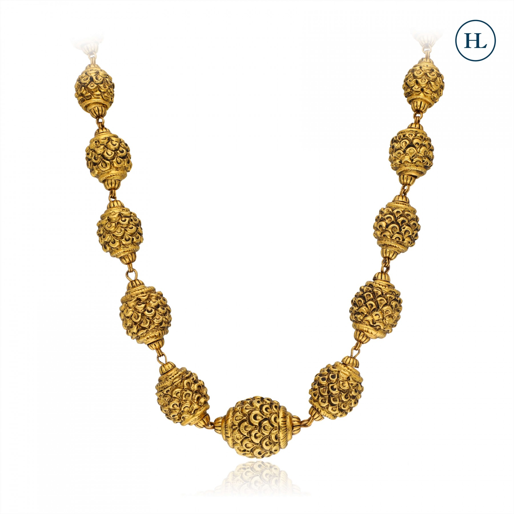 Antique-Styled Craft Gold Chain