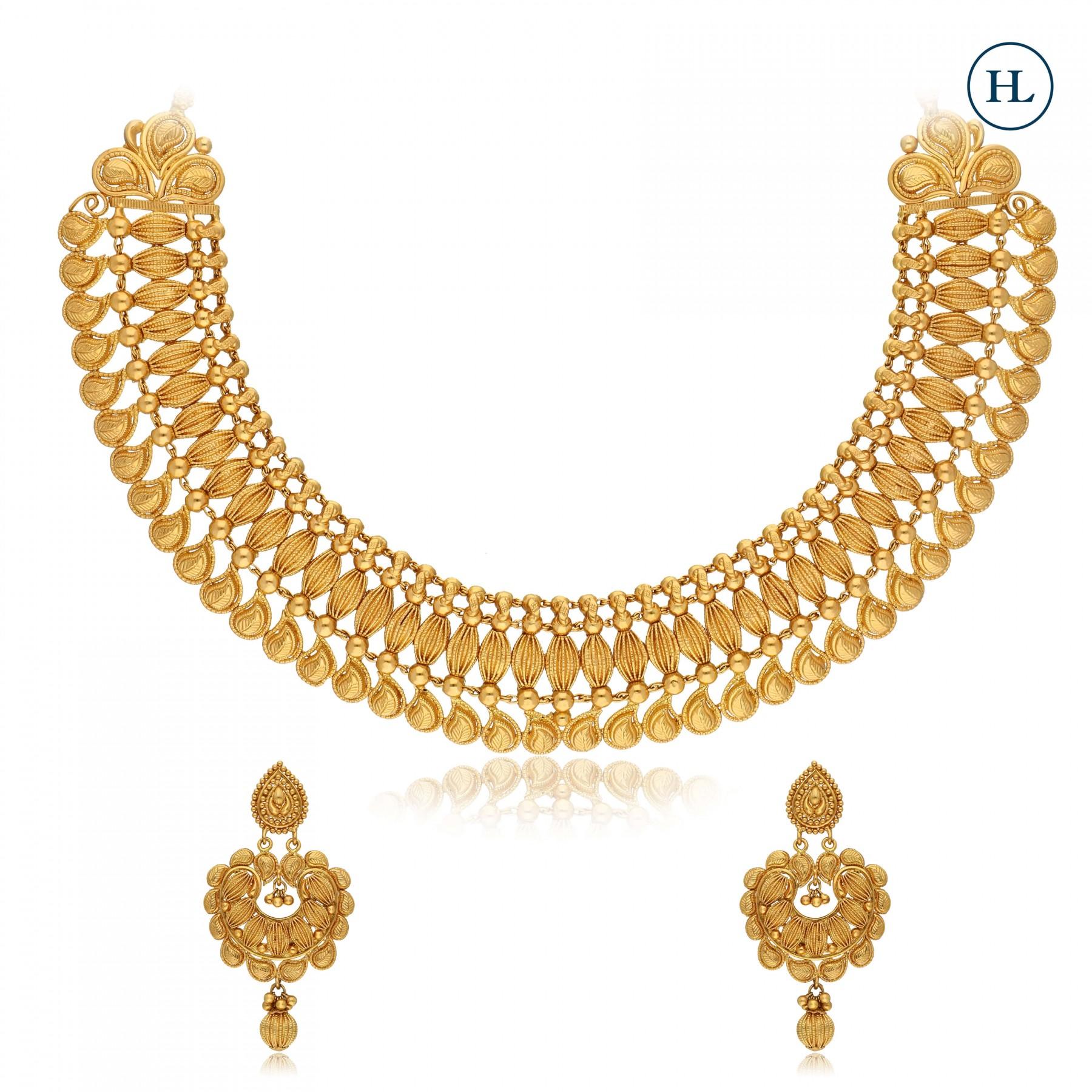 Classic Gold Necklace Set