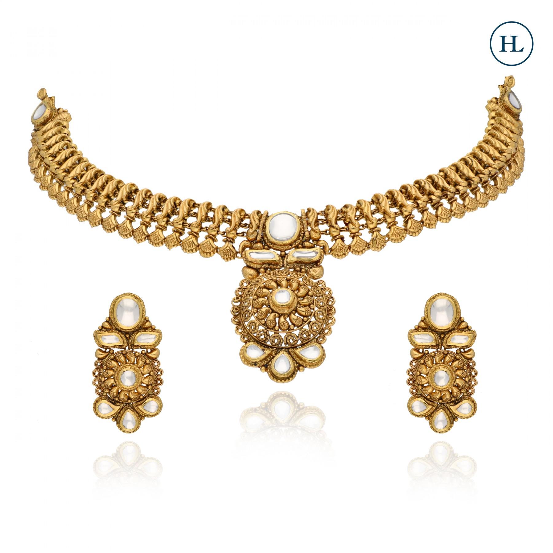 Antique-Styled Necklace Set