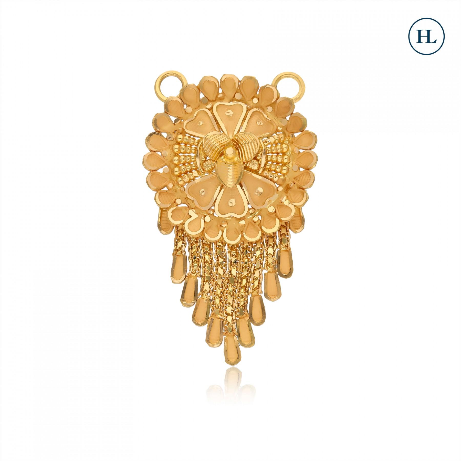 Shine Gold Pendant