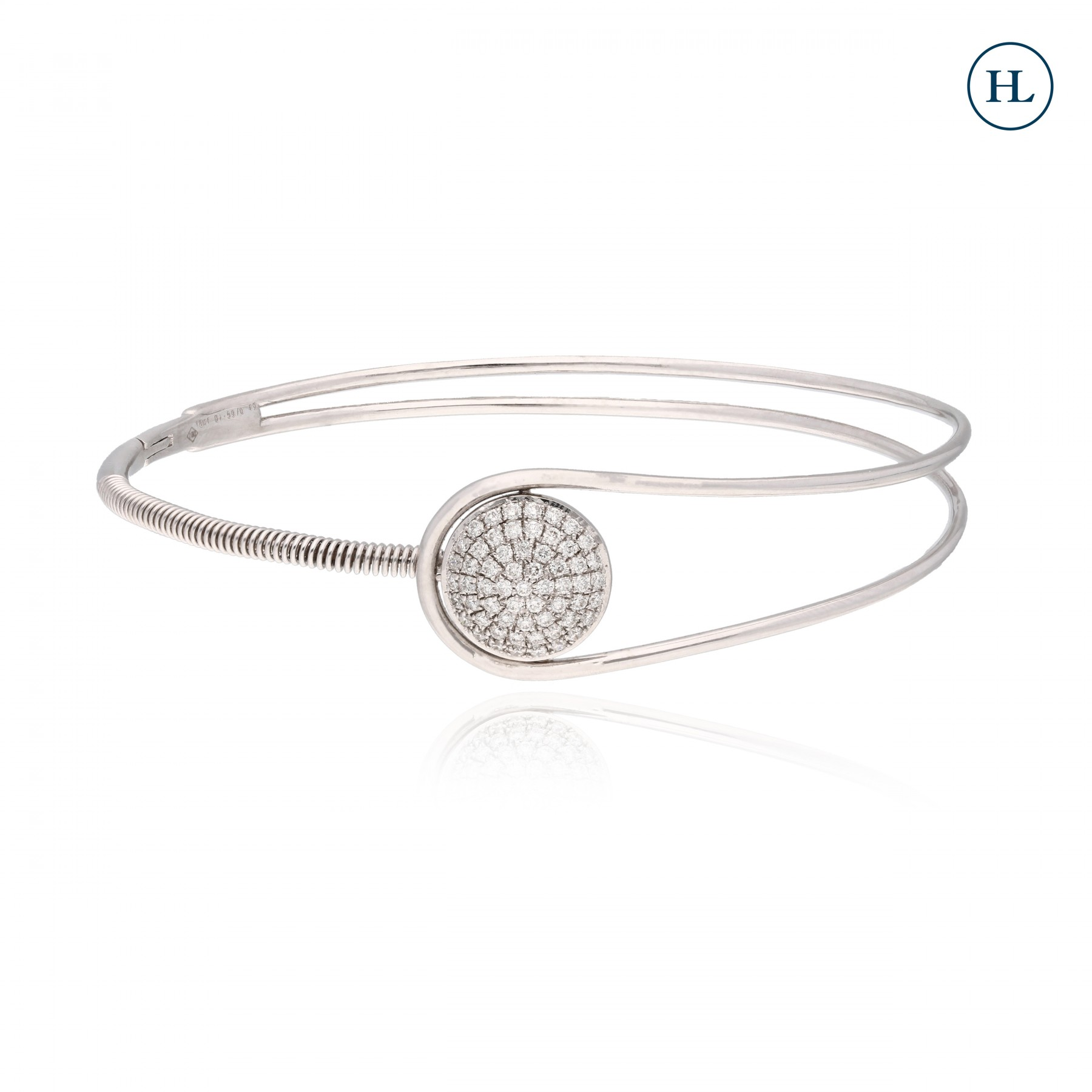 Two Lines Diamond Bracelet
