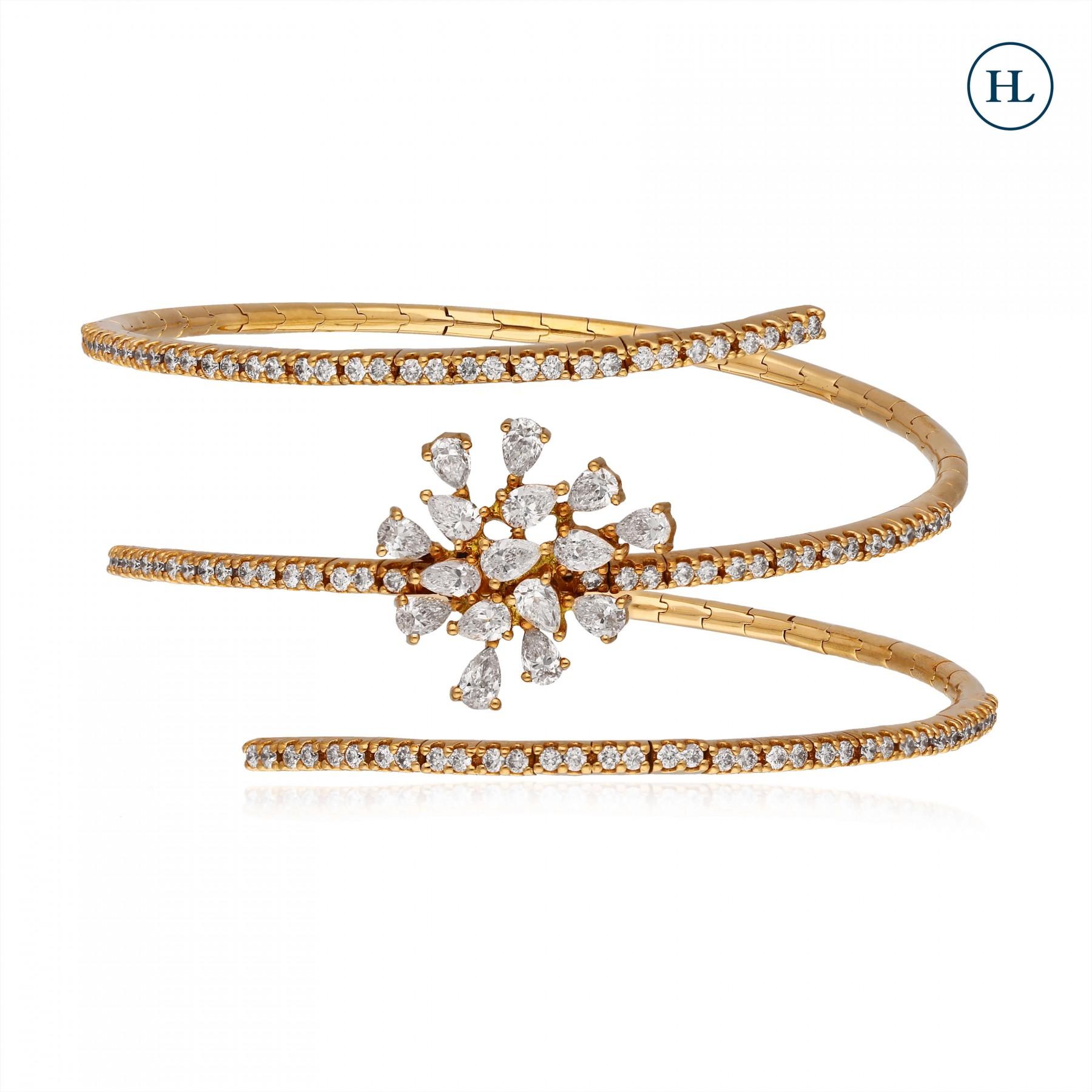 Scattered Diamond Bracelet