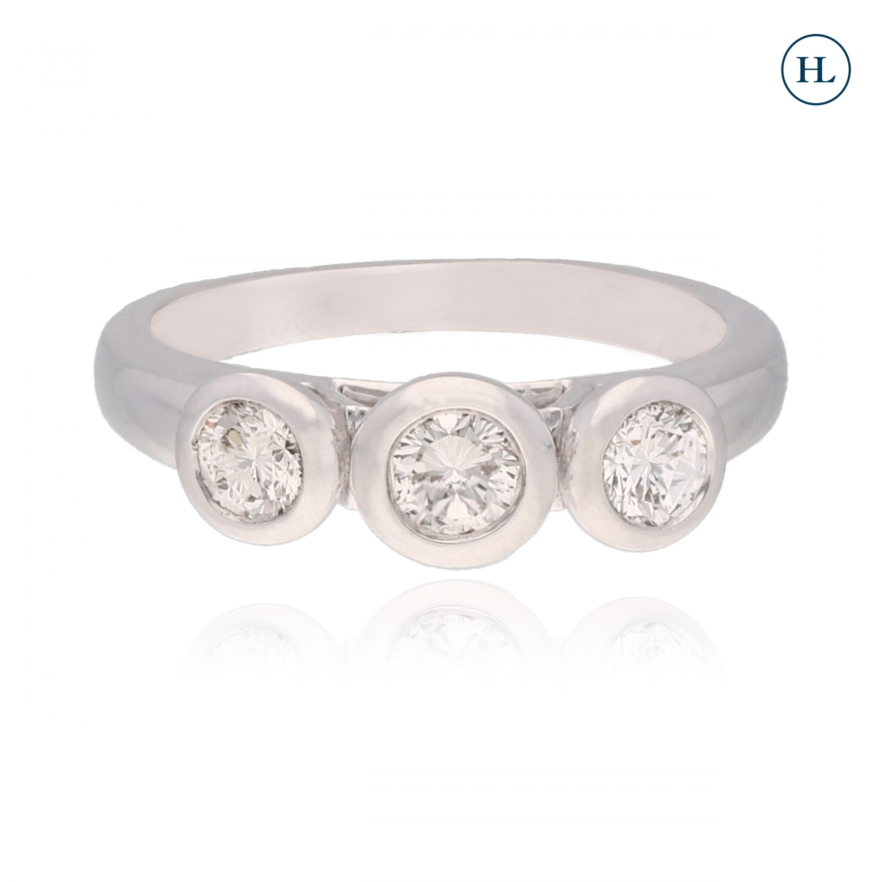 Three Diamonds Ring