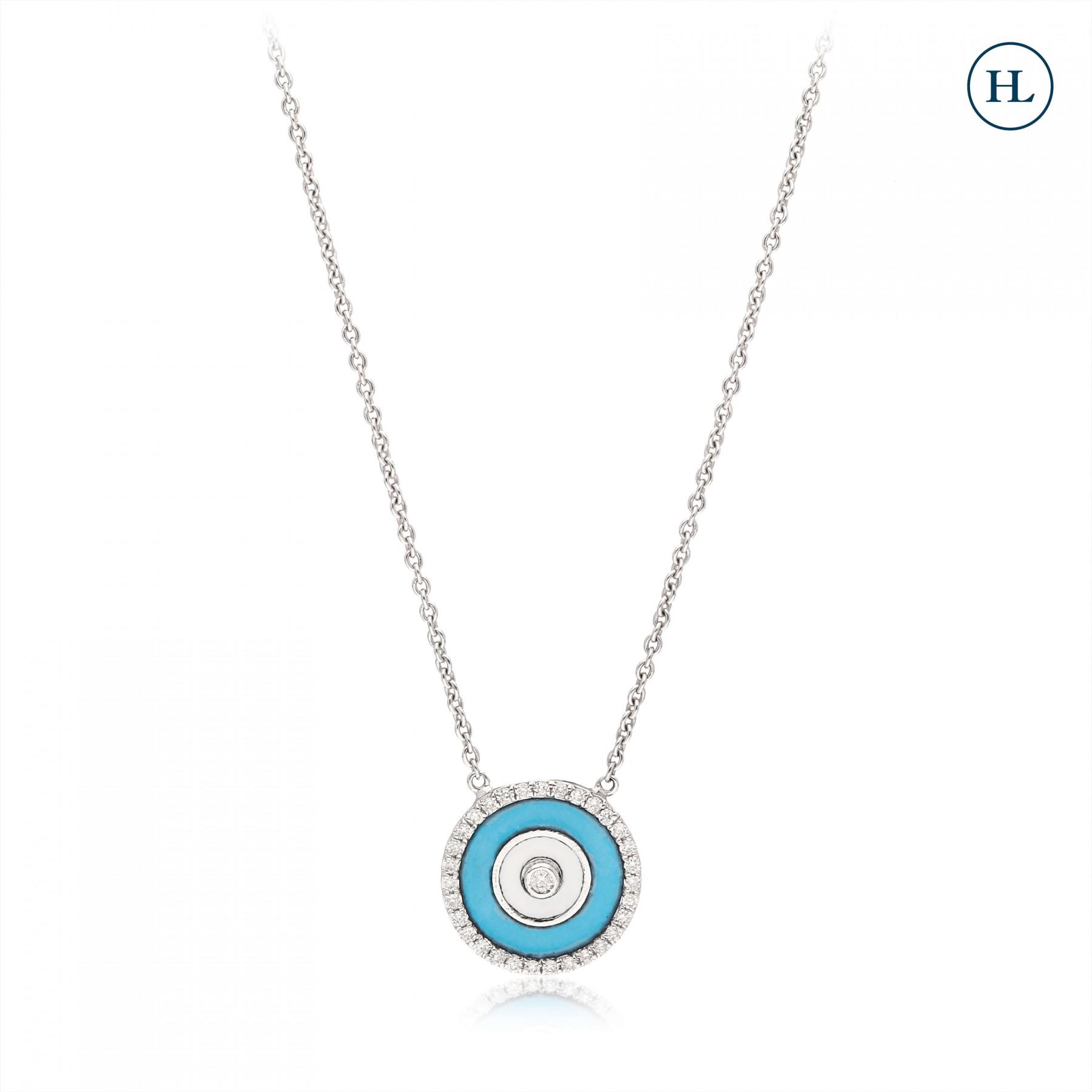 Sakura Diamond Pendant